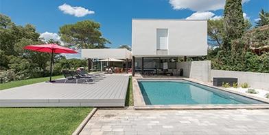 Terrasse mobile de piscine